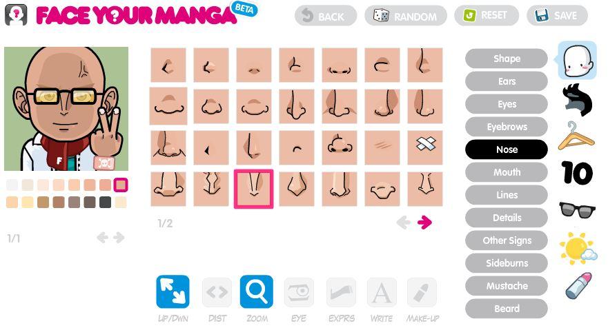 faceyourmanga2 Un avatar sympa avec FaceYourManga