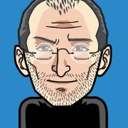 fym-stevejobs Un avatar sympa avec FaceYourManga