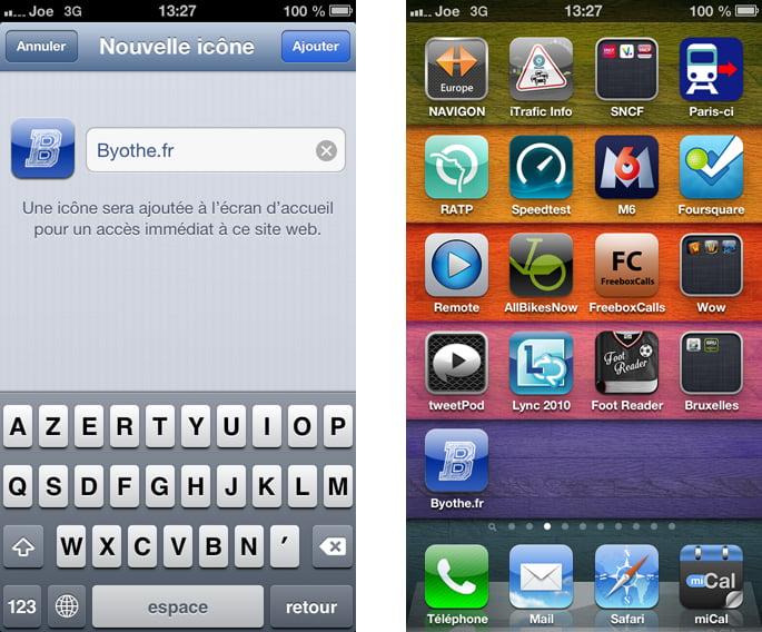 icone-iphone2 Créer un accès rapide à un blog ou à un site web sur son iPhone