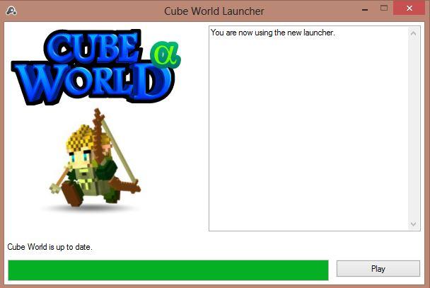 cubeworld1 Cube World, le jeu dont vous allez entendre parler !