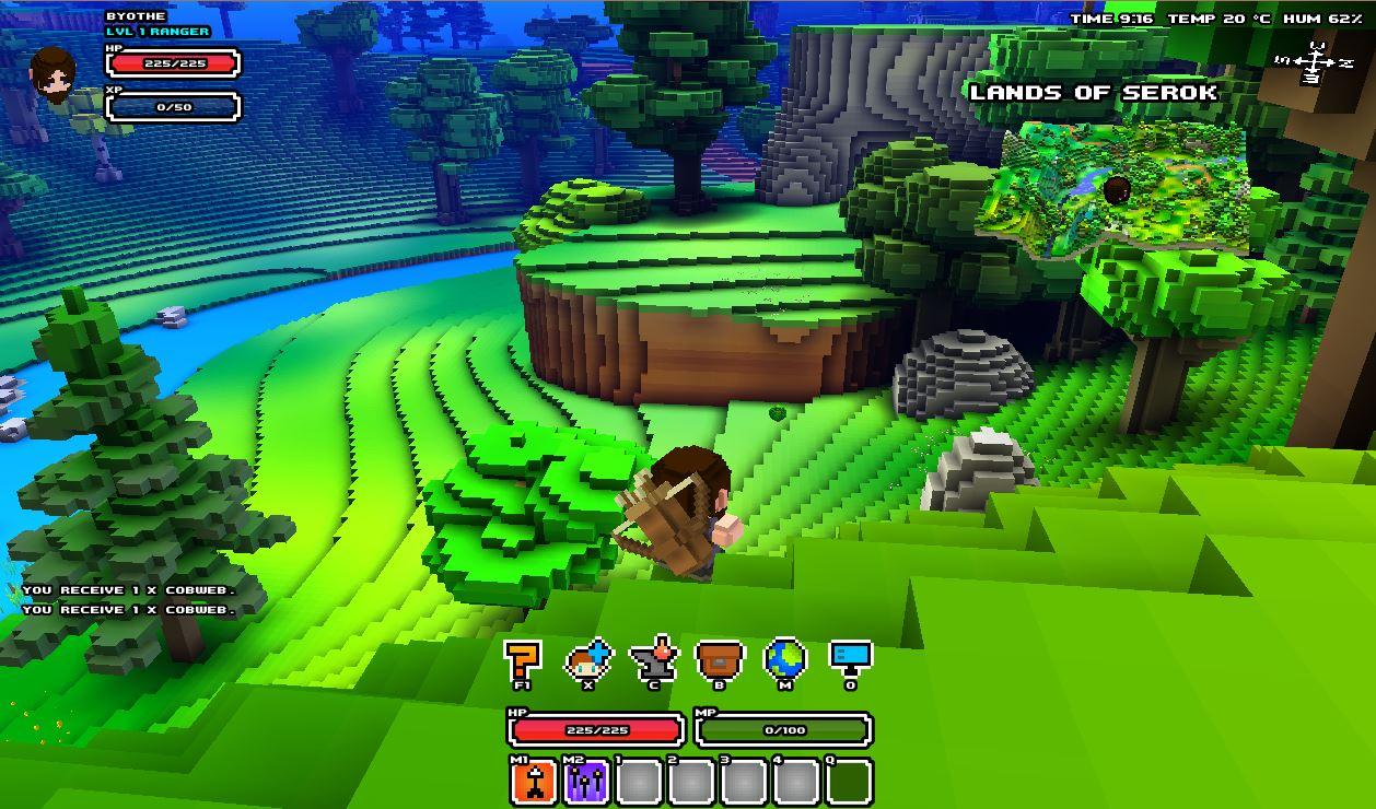cubeworld4-exploration Cube World, le jeu dont vous allez entendre parler !