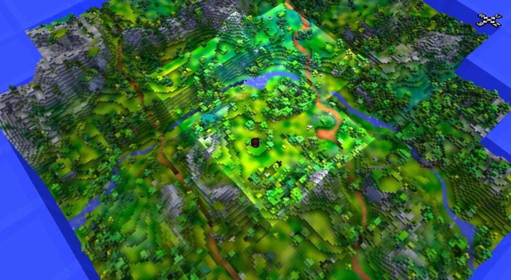 cubeworld7-carte Cube World, le jeu dont vous allez entendre parler !