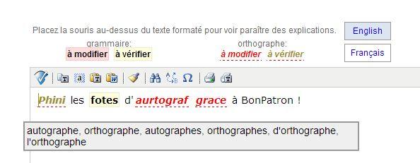 bonpatron-exemple Phini les fotes d'aurtograf grace à BonPatron !
