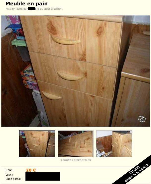 les perles du bon coin ou le meilleur du pire des petites annonces byothe. Black Bedroom Furniture Sets. Home Design Ideas