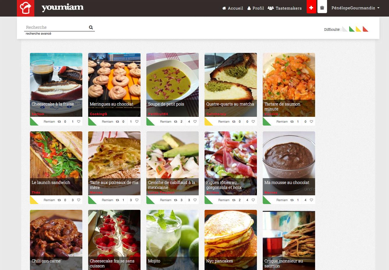 1 Youmiam : partagez votre cuisine