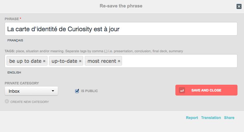 Capture-2 Phraseum : apprenez une langue étrangère naturellement