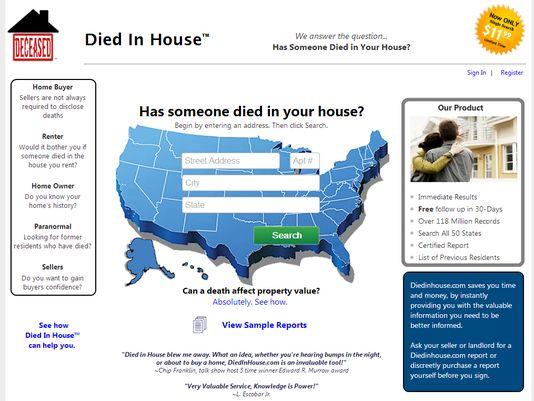 Capture Died in House : découvrez l'histoire de votre maison