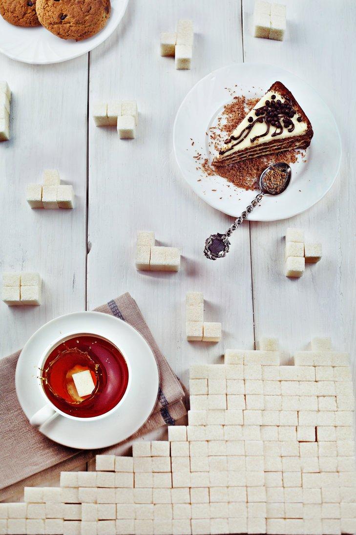 Dina-Belenko-Tetris FoodArt - Dina Belenko