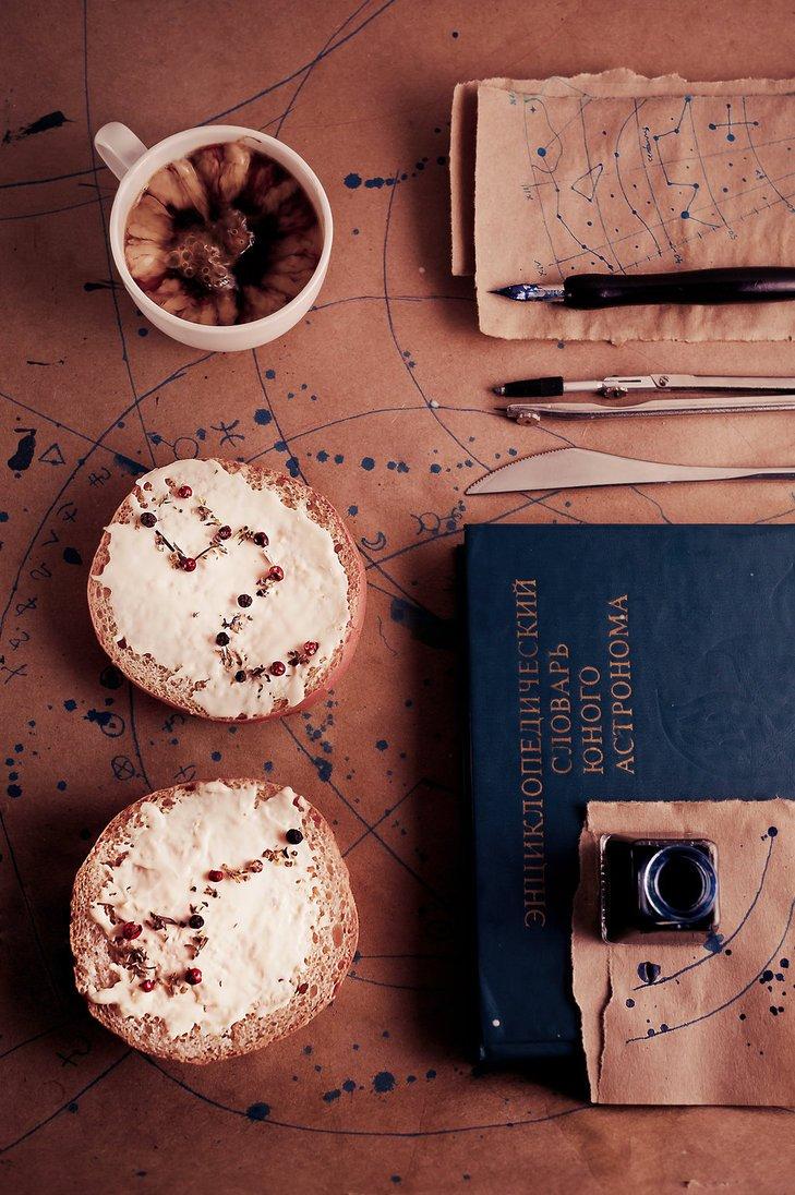 Dina-Belenko-constellations FoodArt - Dina Belenko