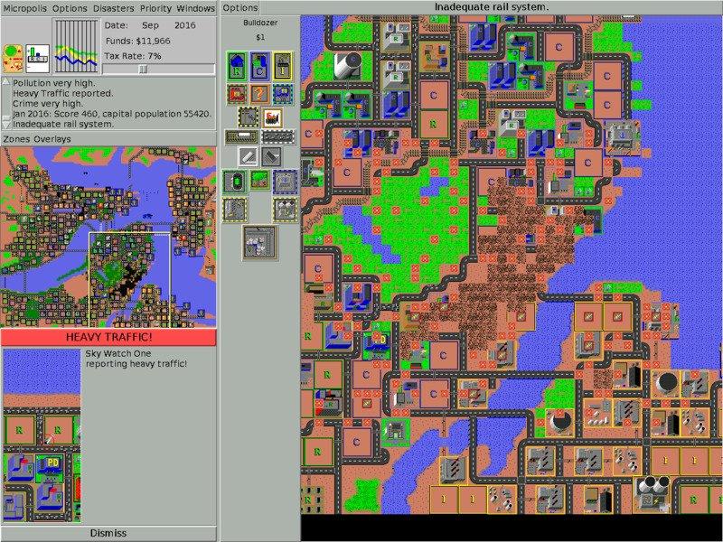 micropolis Abandonware : rejouez à vos jeux vintage gratuitement !