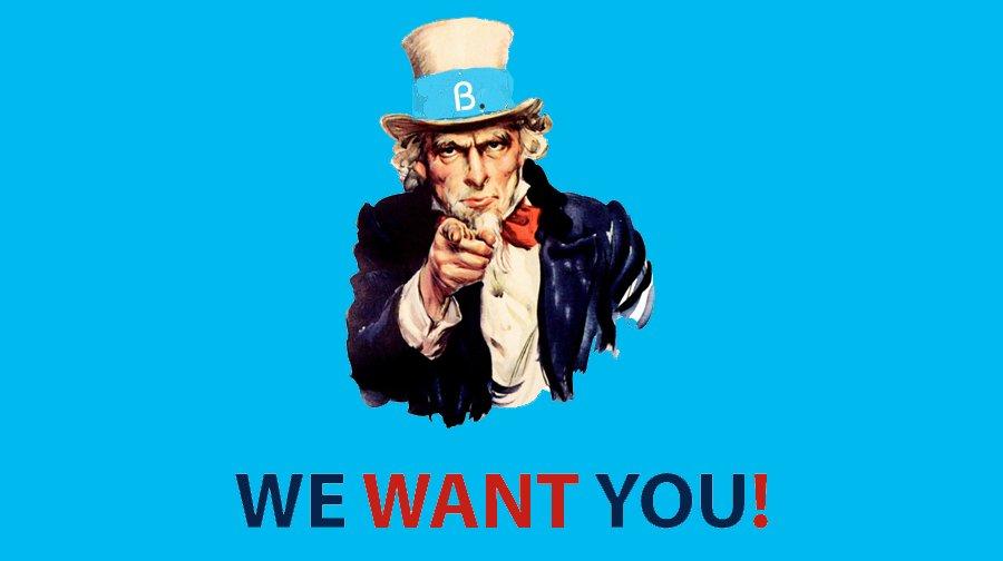 we-want-you Devenez rédacteur sur Byothe.fr !