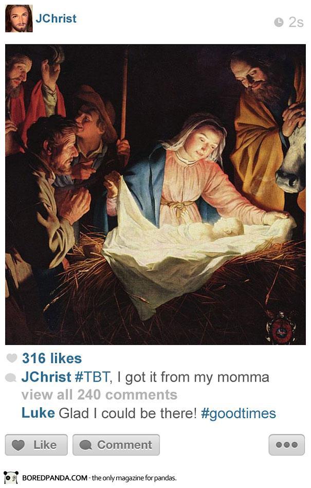 histagrams-jesus Histagrams : l'histoire à la sauce Instagram