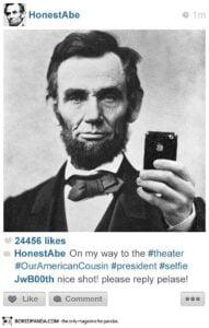 histagrams-lincoln-191x300 Histagrams : l'histoire à la sauce Instagram