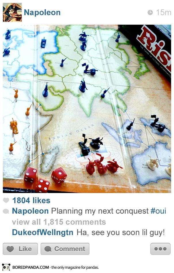 histagrams-napoleon Histagrams : l'histoire à la sauce Instagram