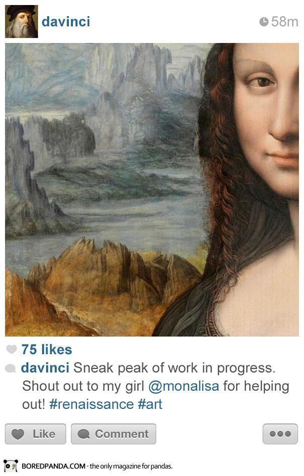 histagrams-vinci Histagrams : l'histoire à la sauce Instagram