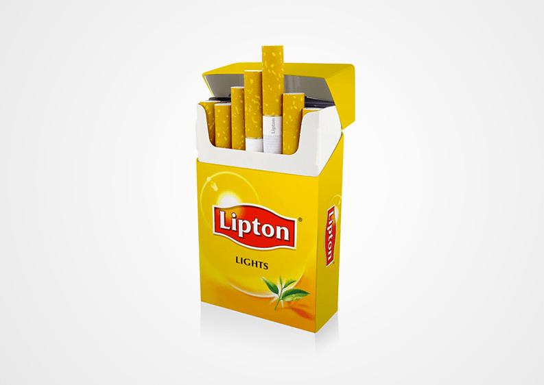 lipton Des logos associés à des objets inattendus