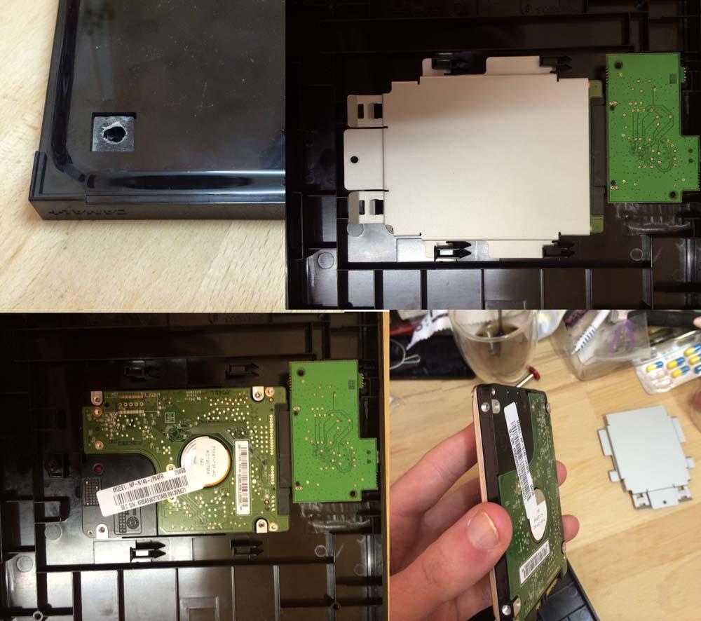 Demontage Tutoriel : réutilisez le disque dur de votre box TV