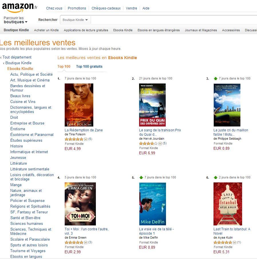 amazon-ebook Les liseuses électroniques : toute une bibliothèque dans votre poche !