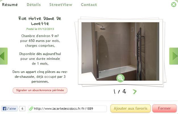 vous cherchez une colocation il y a un site pour a. Black Bedroom Furniture Sets. Home Design Ideas