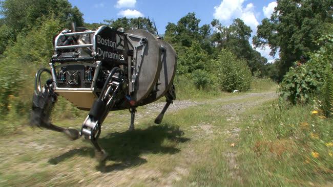 bigdog Google s'offre une société de robotique