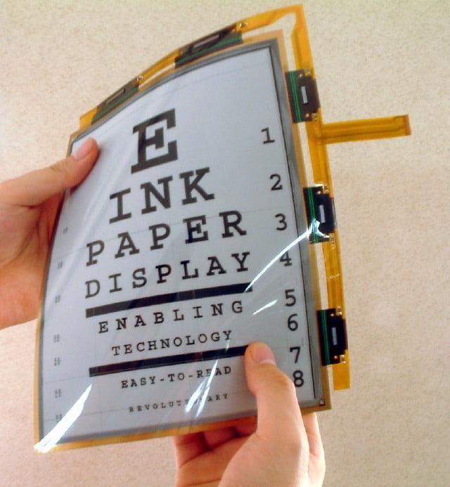 e-ink-ecran Les liseuses électroniques : toute une bibliothèque dans votre poche !