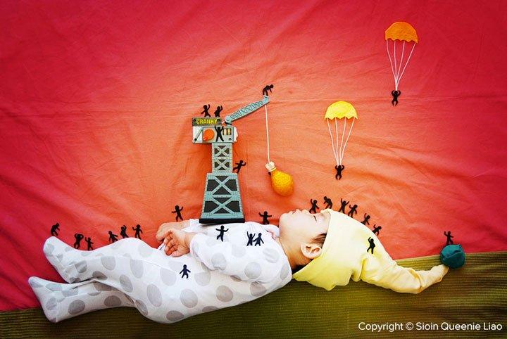 journey-to-lilliput Photo : des siestes de bébés mises en scène !