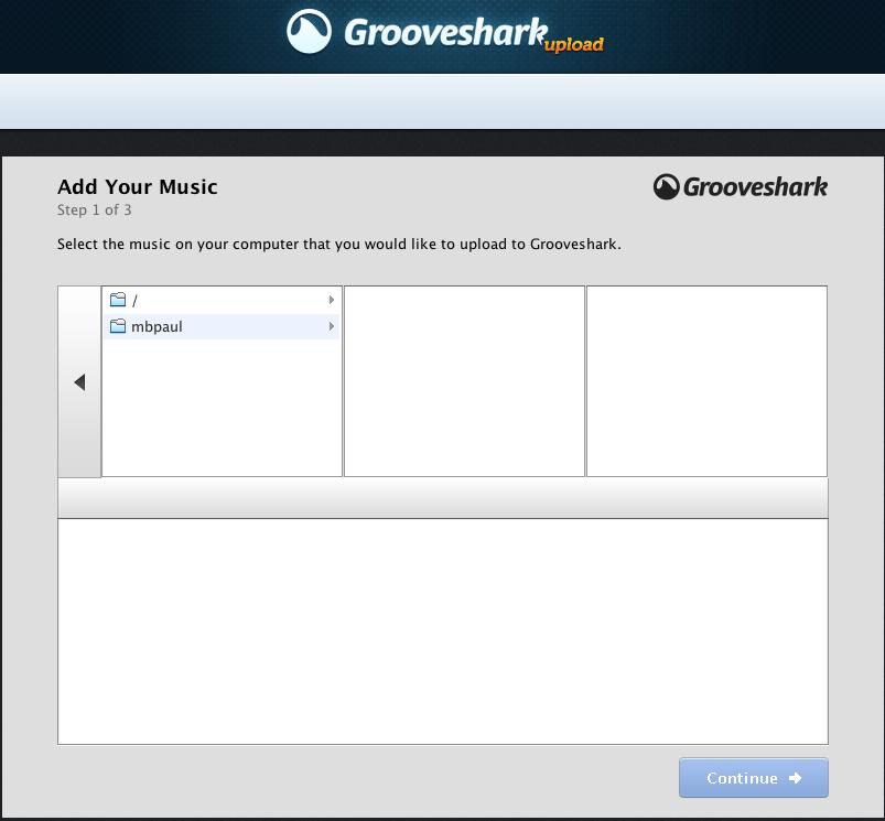 upload Grooveshark, une alternative à Deezer et Spotify