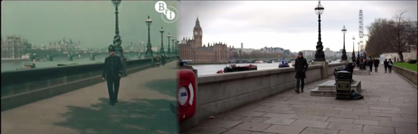 london-simon-smith Vidéo : comparaison plan par plan de Londres en 1927 et en 2013