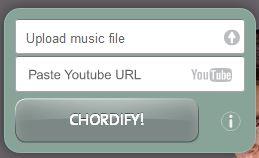 chordify1 Chordify : récupérer facilement les accords d'une chanson
