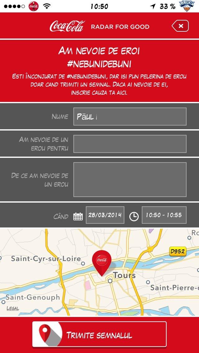 photo-2 Coca-Cola vous aide à faire une bonne action avec une application