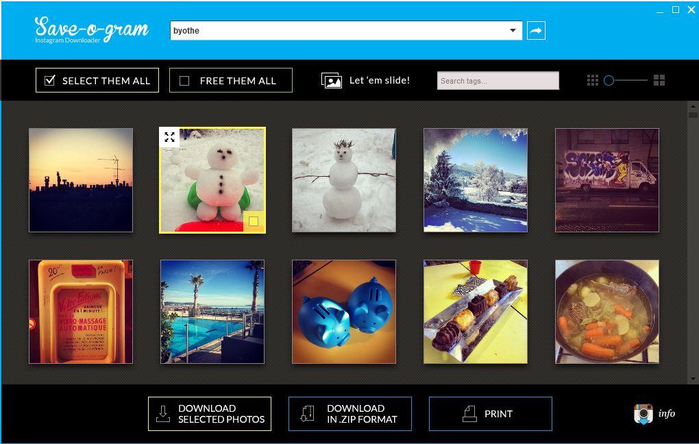 save-o-gram2 Un utilitaire pour récupérer toutes les photos d'un compte Instagram
