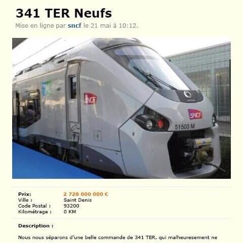 sncf-bon-coin Nouveaux trains trop larges à la SNCF : le web se déchaîne en image !