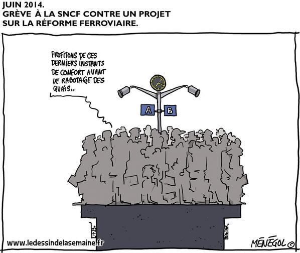sncf-greve-quais Nouveaux trains trop larges à la SNCF : le web se déchaîne en image !
