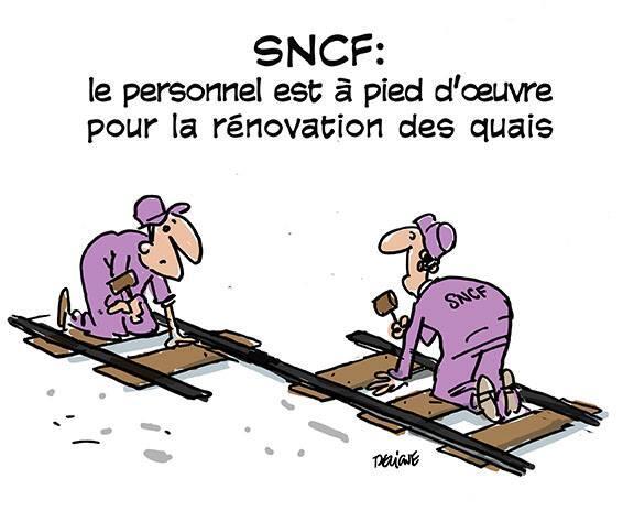 sncf-ouvriers Nouveaux trains trop larges à la SNCF : le web se déchaîne en image !