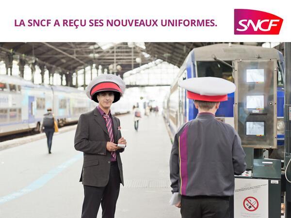 sncf-uniformes Nouveaux trains trop larges à la SNCF : le web se déchaîne en image !