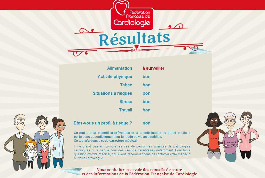 federation-francaise-cardiologie-bilan J'aime mon cœur, questionnaire interactif pour tester vos risques cardiaques