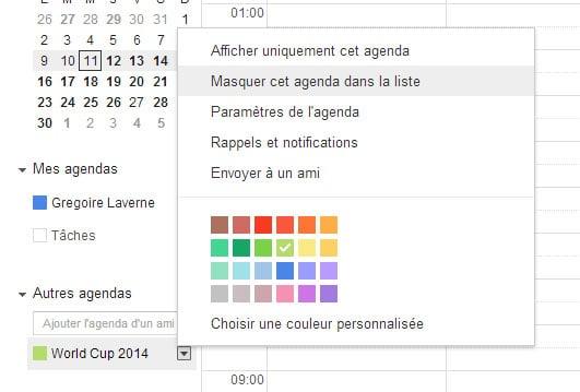 google-calendar-mondial-retirer1 Le calendrier de tous les matchs de la Coupe du Monde de foot dans Google Calendar