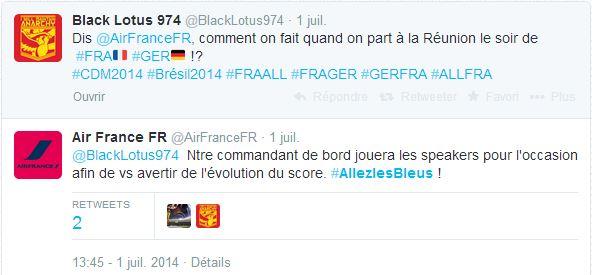 air-france-commentateur Humour : quand les marques soutiennent l'Equipe de France de foot