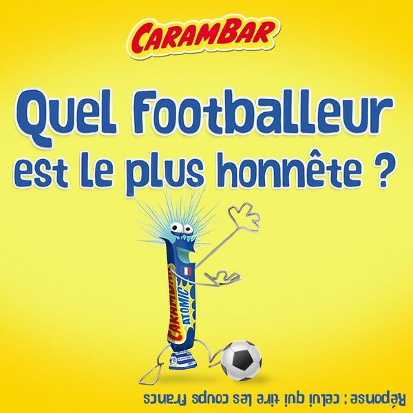 carambar-blague Humour : quand les marques soutiennent l'Equipe de France de foot