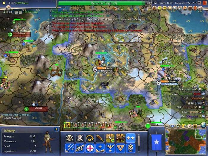 civilization-IV Le prochain opus du jeu Civilization prévu pour octobre 2014