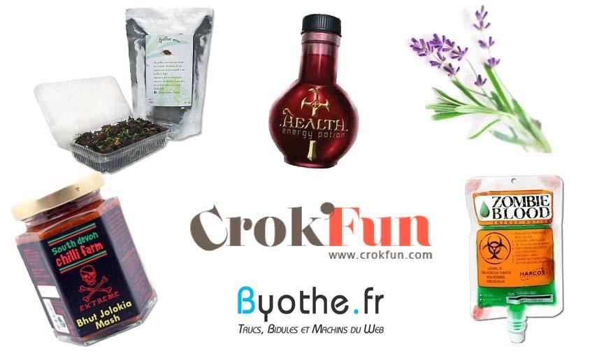 concours-crokfun Crok'Fun une boutique en ligne pour découvrir de la nourriture insolite