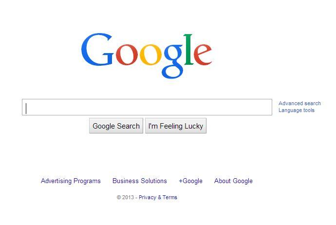 google-juin-2014 L'évolution de la page d'accueil de Google depuis 1998