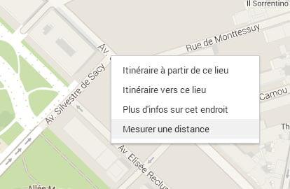 google-maps-distance Il est désormais possible de mesurer des distances entre 2 points sur Google Maps