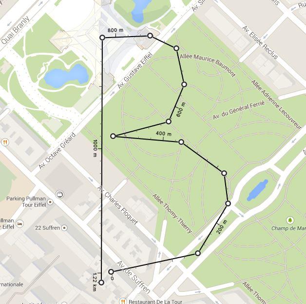 google-maps-points-distances Il est désormais possible de mesurer des distances entre 2 points sur Google Maps