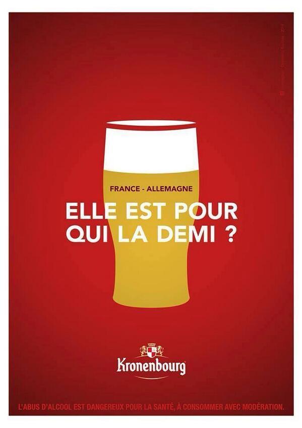 kronenbourg-demi Humour : quand les marques soutiennent l'Equipe de France de foot