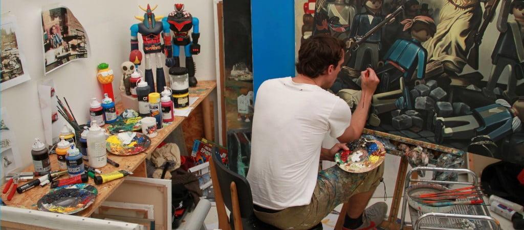 pierre-adrien-sollier L'image du jour : des peintures célèbres avec des personnages Playmobil