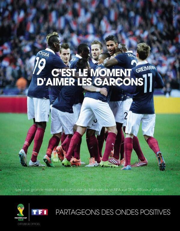 tf1-aimer-garcons Humour : quand les marques soutiennent l'Equipe de France de foot