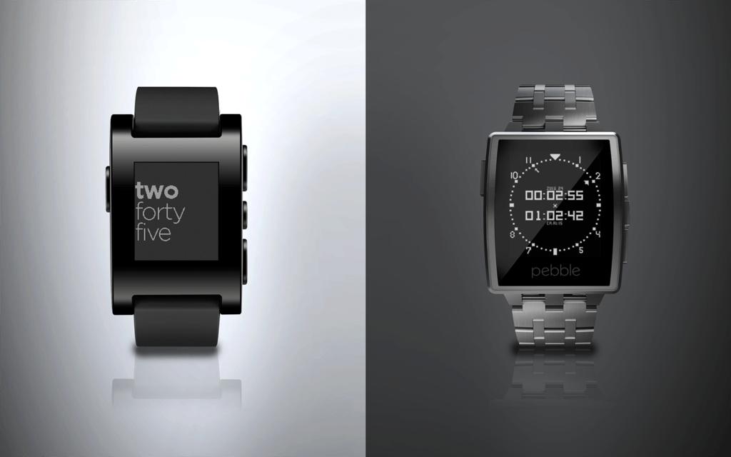 140106D.Pebble-and-Steel-1024x640 Montres connectées : Test de la Pebble Watch