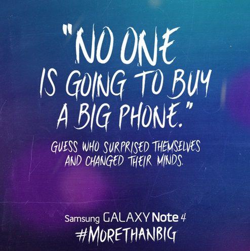samsung-citation-jobs Les réactions des concurrents d'Apple à la sortie de l'iPhone 6