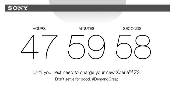 sony-compte-a-rebours Les réactions des concurrents d'Apple à la sortie de l'iPhone 6
